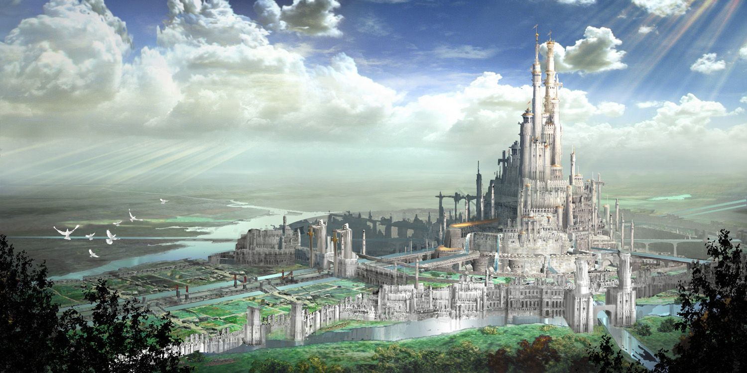 castle concept art by - photo #18