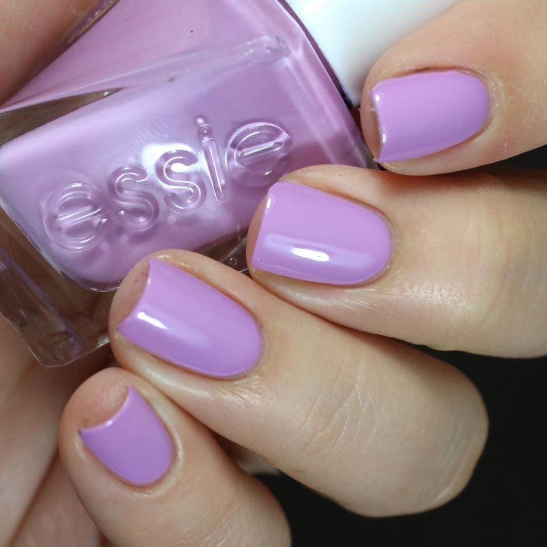 Essie Dress call - orchid / #pastel purple #nail polish / lacquer ...