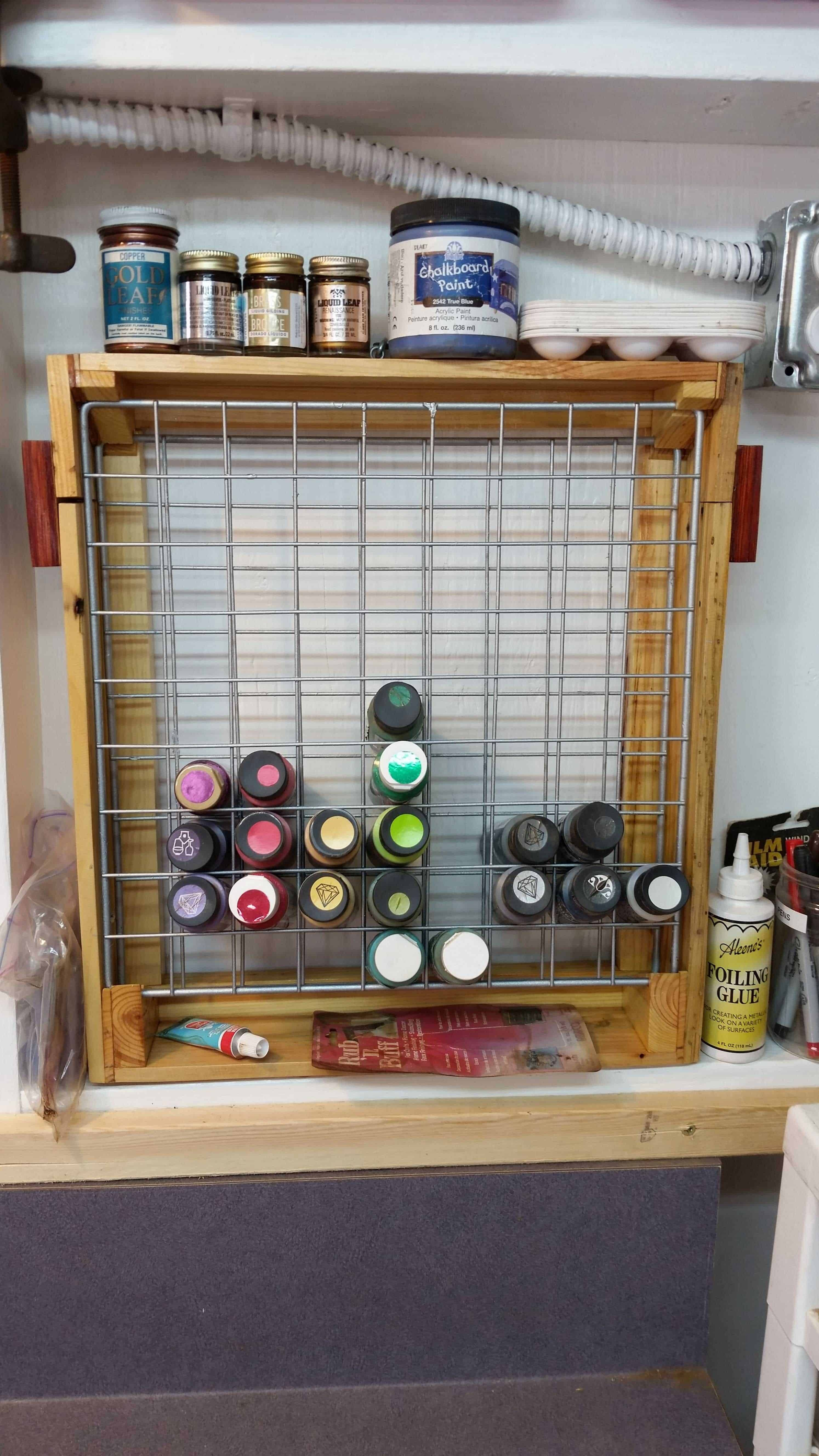 Enjoyable Craft Paint Pallet Rack Or Pallet Caddy Pallet Furniture Download Free Architecture Designs Photstoregrimeyleaguecom