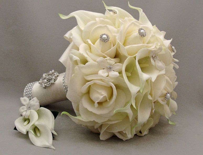 Funky Silk Wedding Flowers Bouquets Ideas - Top Wedding Gowns ...