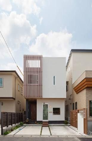 間口の狭い家 外観 の画像検索結果 住宅 外観 ファサード デザイン