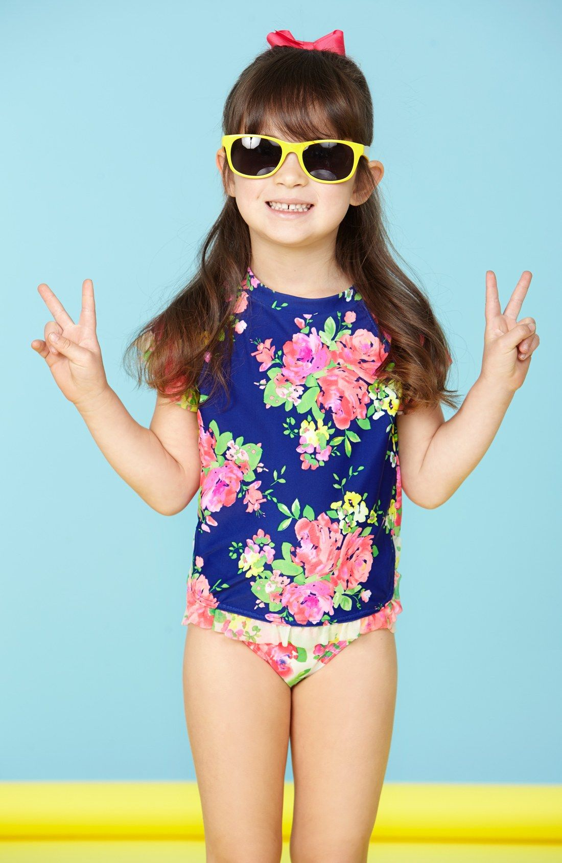 90859160582ab Hula Star 'Romance' Two-Piece Swimsuit (Toddler Girls & Little Girls ...