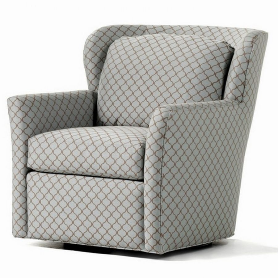Interesting swivel chair - so practical, comfortable and tailored