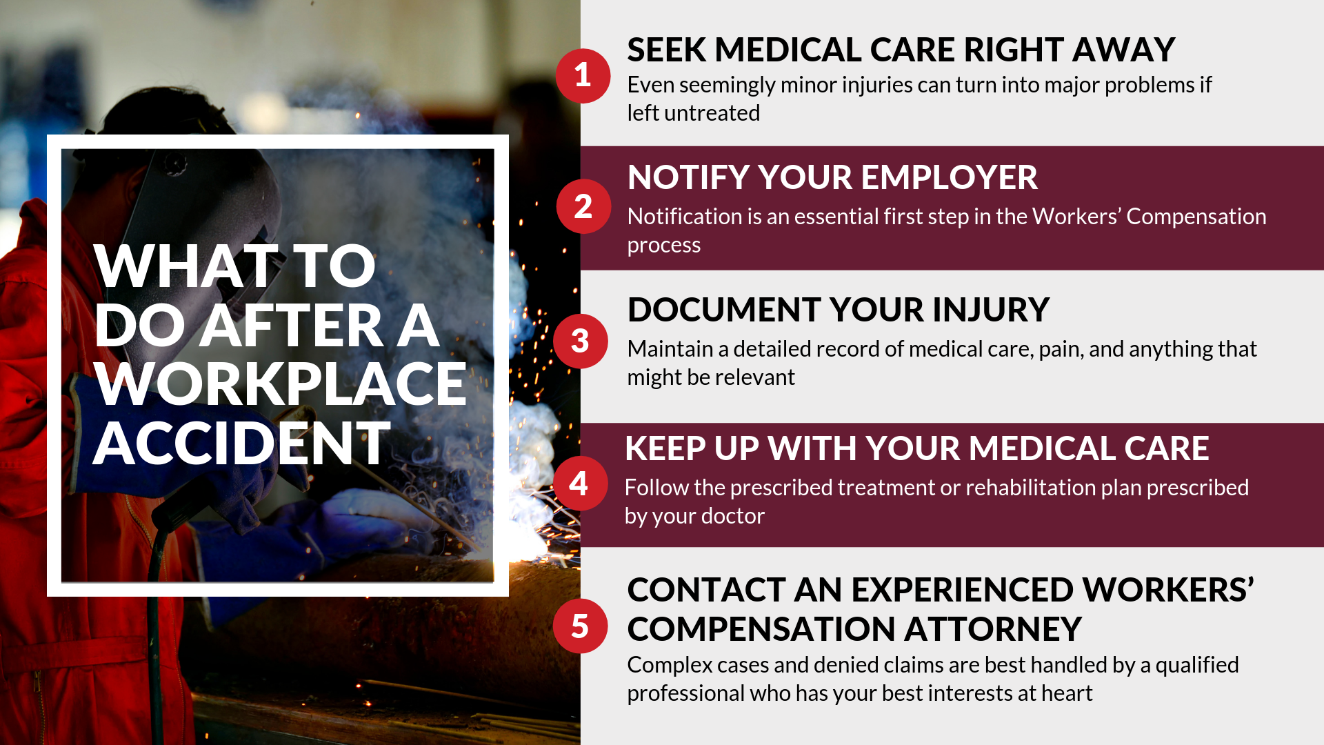 What To Do After A Workplace Accident Compensation Worker Workplace Accident