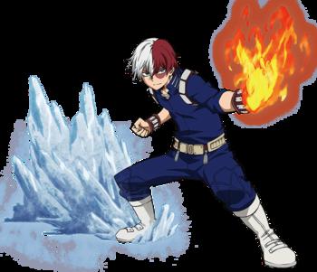 Shoto Todoroki My Hero Academia Wiki Fandom Anime Characters My Hero Academia Manga Hero Costumes
