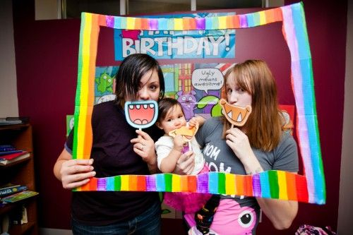 One super sweet monster/ugly doll/rainbow-themed kid's birthday party | Offbeat Mama