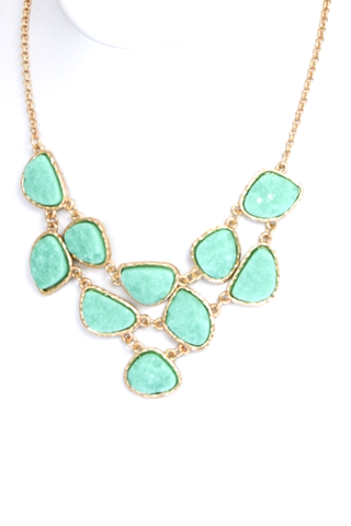 Icicle Druzy Necklace