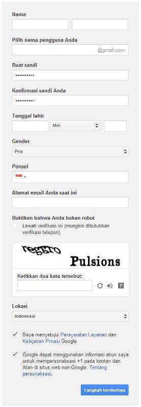 Cara Membuat Gmail Dengan Mudah Cara Gmail Inbox Screenshot