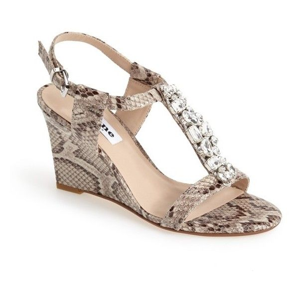 462afa1df323 Dune London  Marzia  Crystal   Leather Wedge Sandal