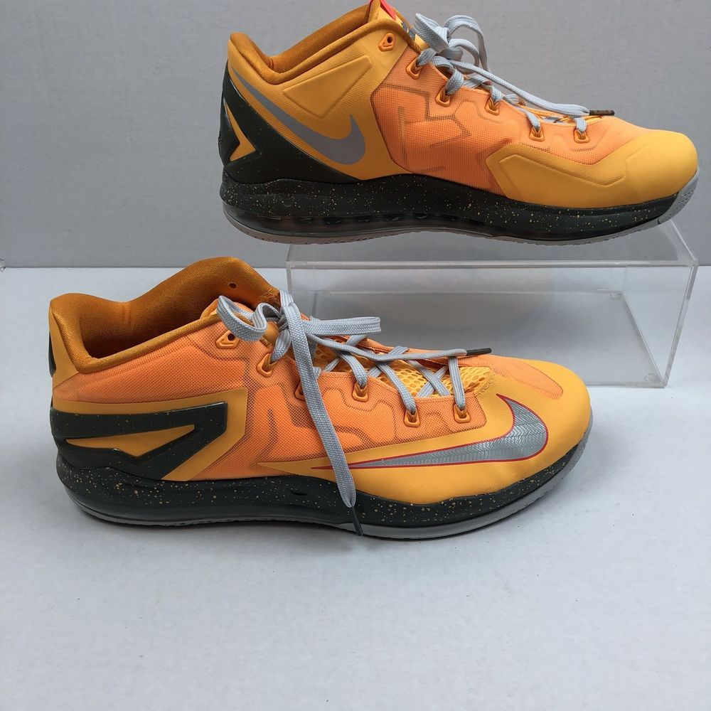Nike Lebron Shoes 13 642849 800 Air Max X1 11 Floridians Mens Basketball Orange Nike Basketballshoes Nike Lebron Shoes Nike Max Basketball Shoes