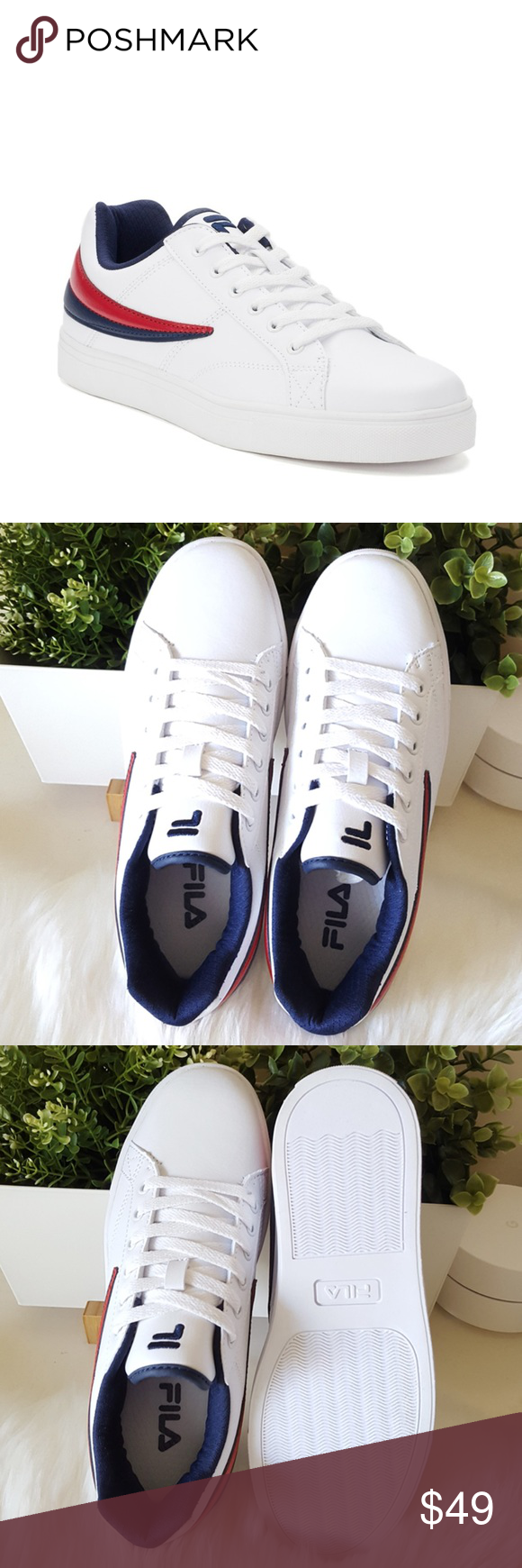 Fila Smokescreen Low Sneakers Brand new with Tag SHOE