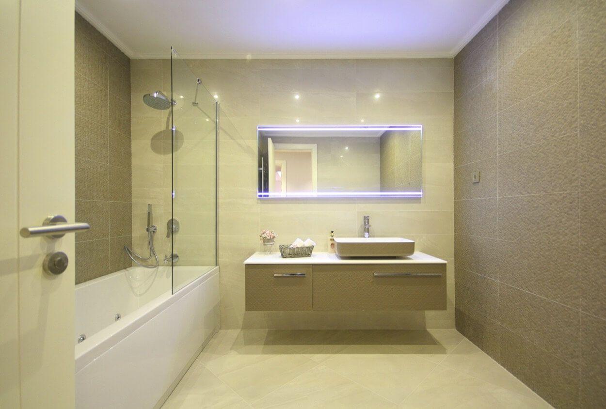 Clean and Spacious Bathroom With Jet Tub | Bathroom Ideas ...