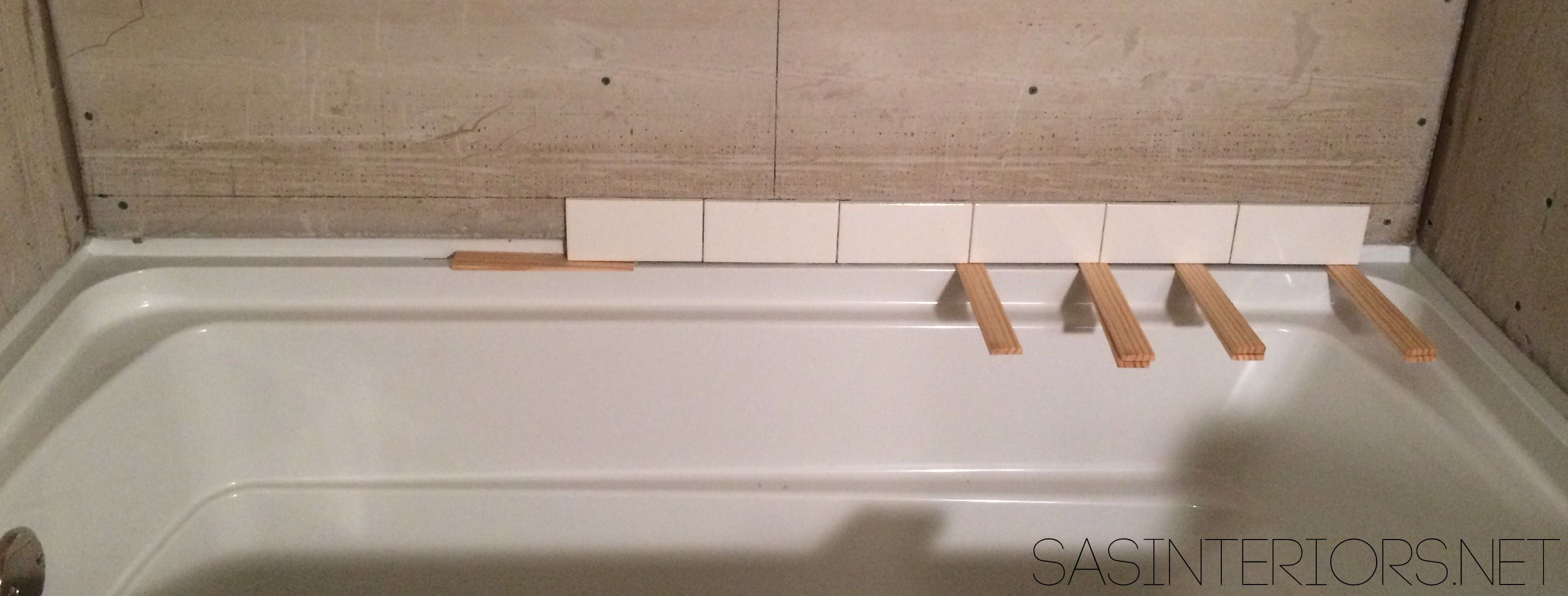 HowTo Tile And Grout A Bathroom Tub Area Tips Tricks To Do It - Bathroom tub makeover