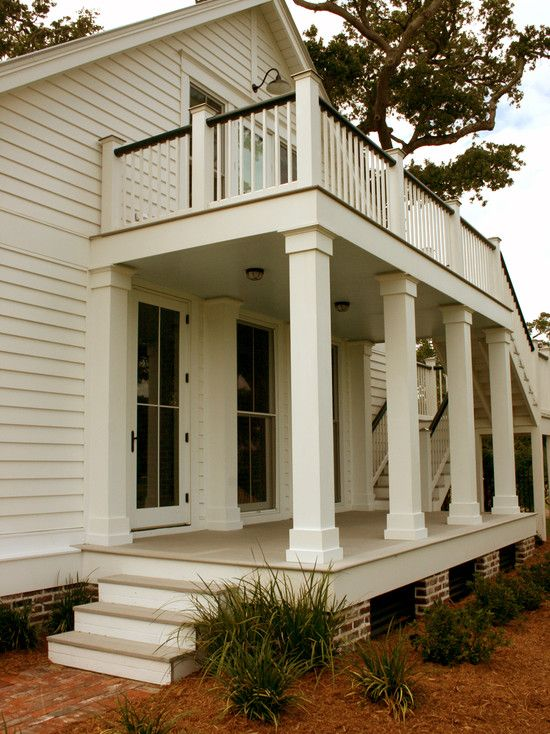 Pillar Shape Porch Balcony Design, Pictures, Remodel