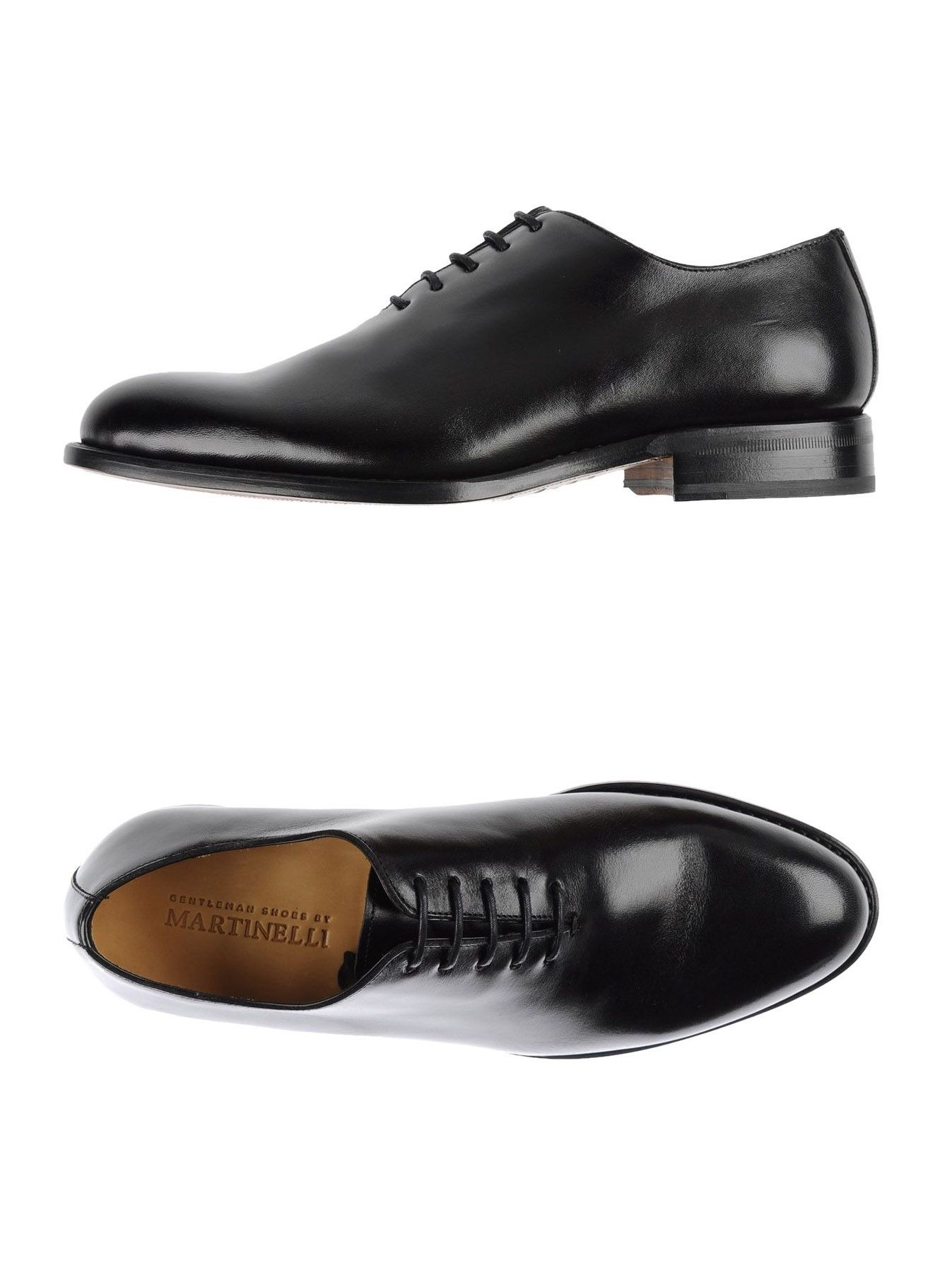 3012f8e760b7 Martinelli Men s Black Wholecut Leather Oxford Shoes Made in Spain ...