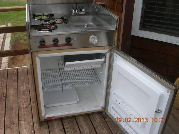 Gas Stove Fridge Sink Combo The Uncommon Home Wood
