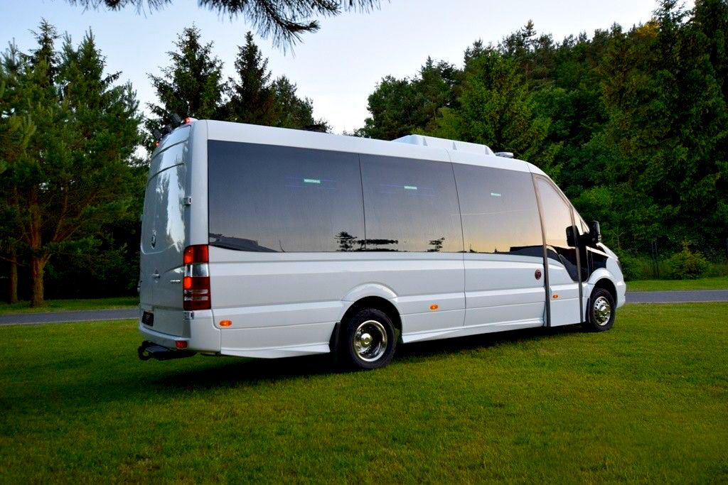 JND minibuses for traveling all over the Europe / New Mercedes Benz Sprinter tour line versions minibus