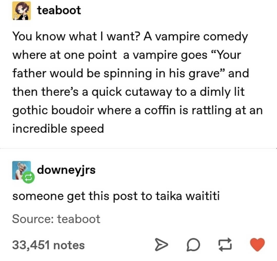 Vampire comedy