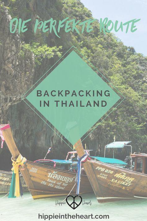 Die perfekte Thailand Backpacking Route für 3 Wochen