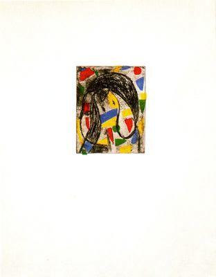 Le révolte des caracteres by Joan Miró
