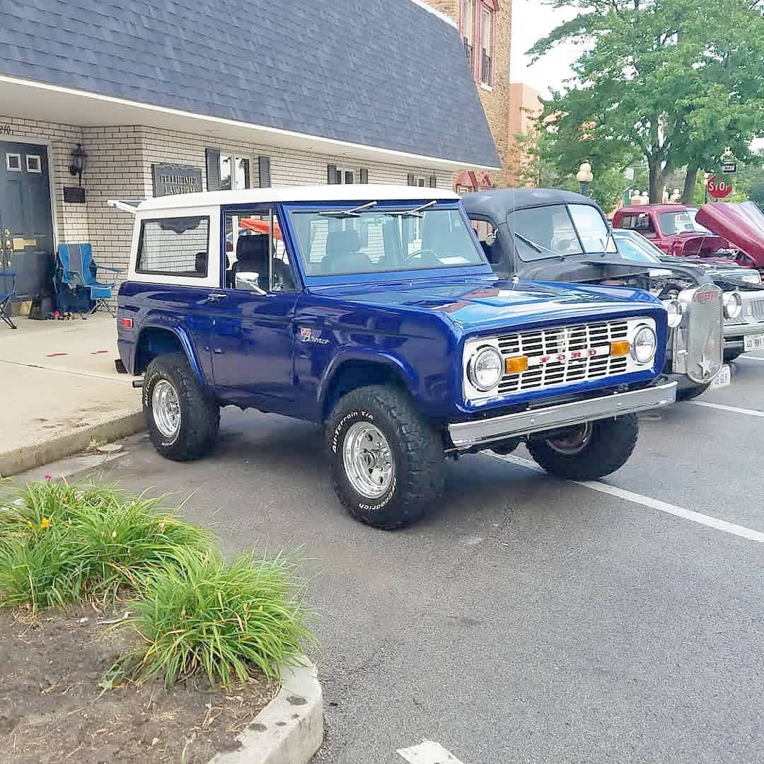 longarm75 never disappoints with his 1970 Ford Bronco