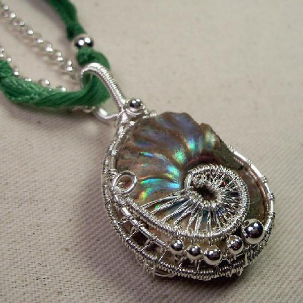 Iridescent ammonite pendantnt like the green with it but o my iridescent ammonite pendantnt like the green with it but o aloadofball Image collections