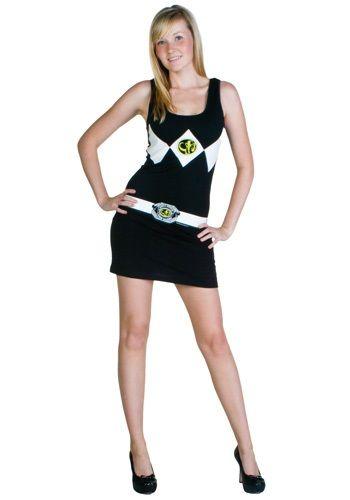 Power Rangers Black Tank Dress #costume #sexy Holidays Pinterest - sexiest halloween costume ideas