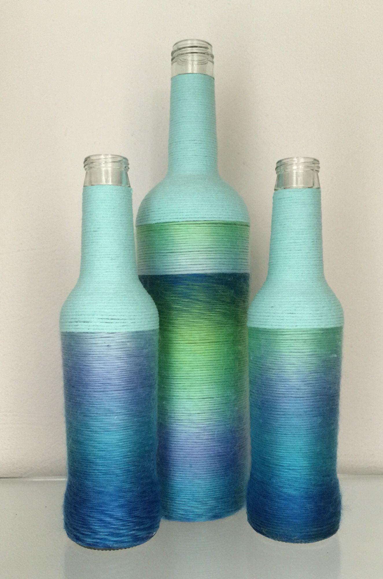 Wine Bottles Decor, Empty Wine Bottles, Wine Bottle Art, Diy