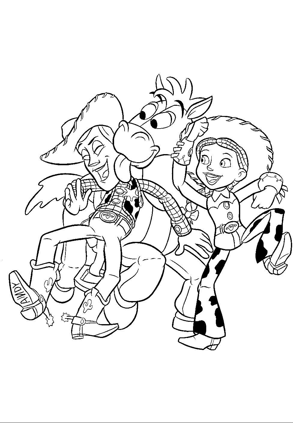 Toy Story Coloring Page Toy Story Coloring Pages Disney