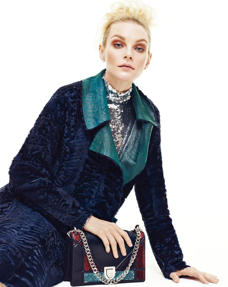 Jessica Stam by Yoo Young Kyu for Marie Claire Korea June 2015