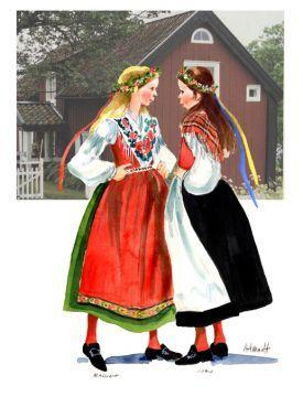 Swedish Traditional Clothing Men In 2020 Scandinavian Clothes European Costumes Scandinavian Costume