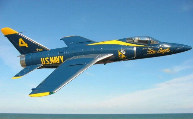 63yrs Ago F 11 Made 1st Flight Blue Angels Us Navy Blue Angels Us Navy Aircraft