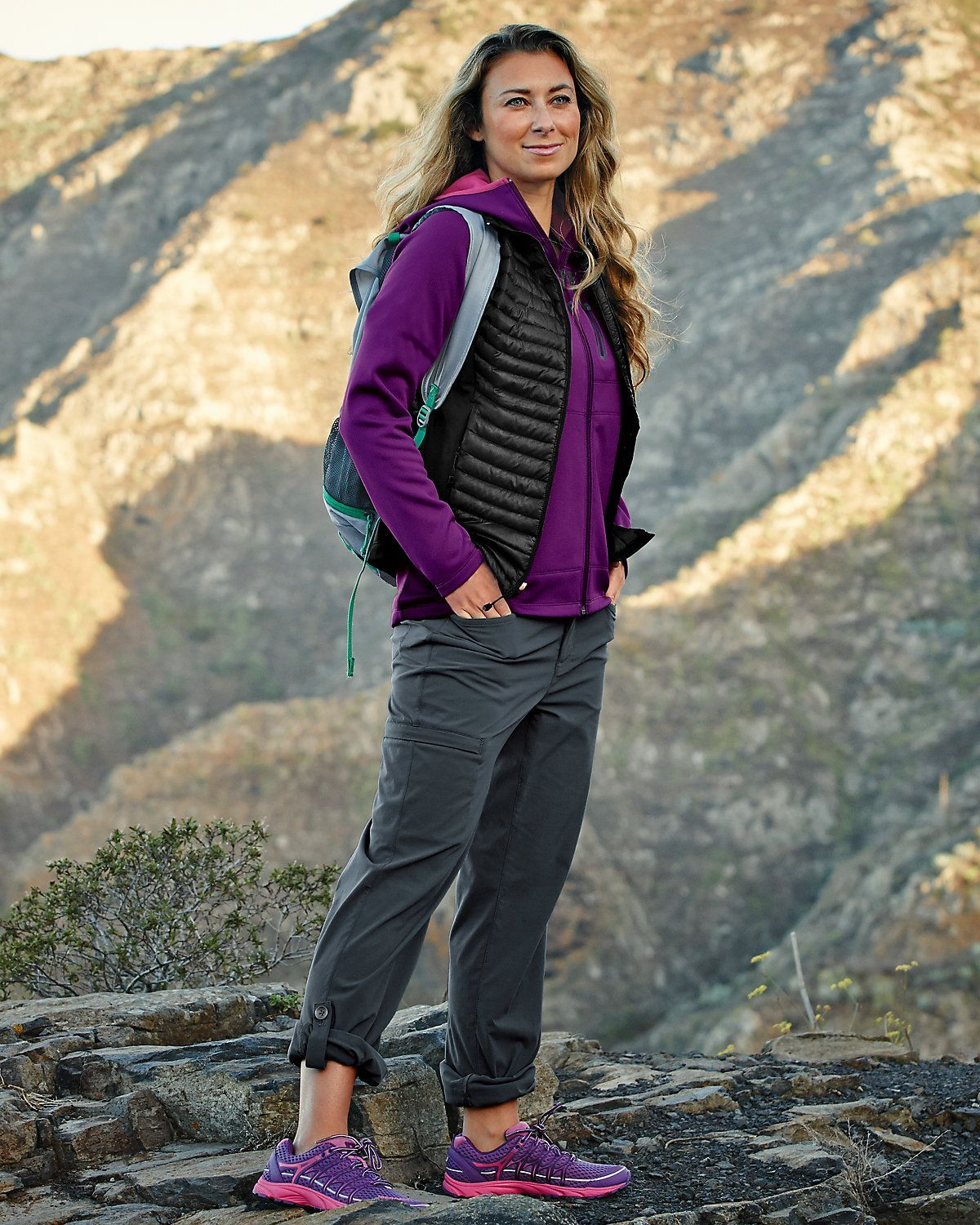 Horizon Roll Up Pants Eddie Bauer In Long Length For Tall Women Hikingoutfits Trekking Outfit Women Trekking Outfit Hiking Pants Women