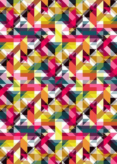 Aztec Geometric VII  by AJJ ▲ Angela Jane Johnston