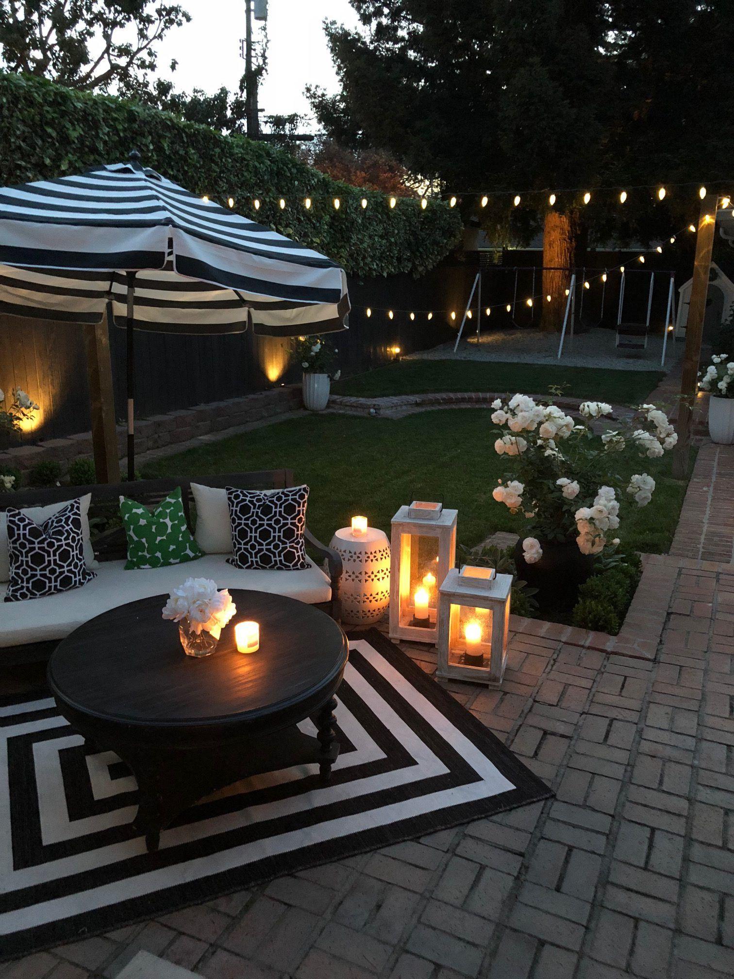 Welcome To My Spring Garden Crazy Chic Design Patio Garden Ideas On A Budget Backyard Decor Small Backyard Patio