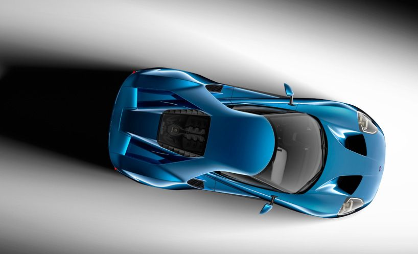 Aerodynamic Ford Gt Carbon Fiber Supercar Redefines Ecoboost Power