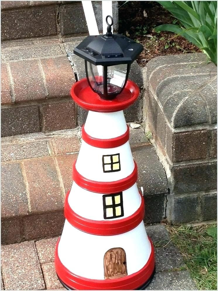 Pot Lighthouse Clay With Solar Light A How To 8 Simple Directions Clay Pot Lighthouse Clay Pots Lighthouse