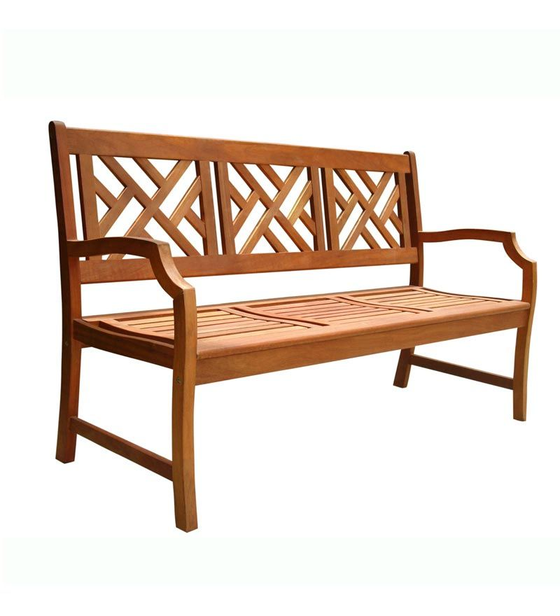 Vifah, Designer Garden Bench, At The Home Depot   Tablet