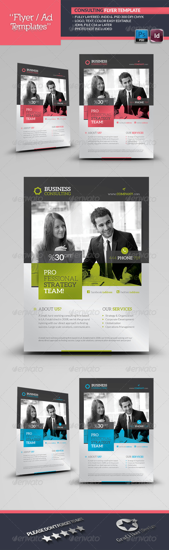 Business consulting flyer template flyer template template and business consulting flyer template cheaphphosting Choice Image