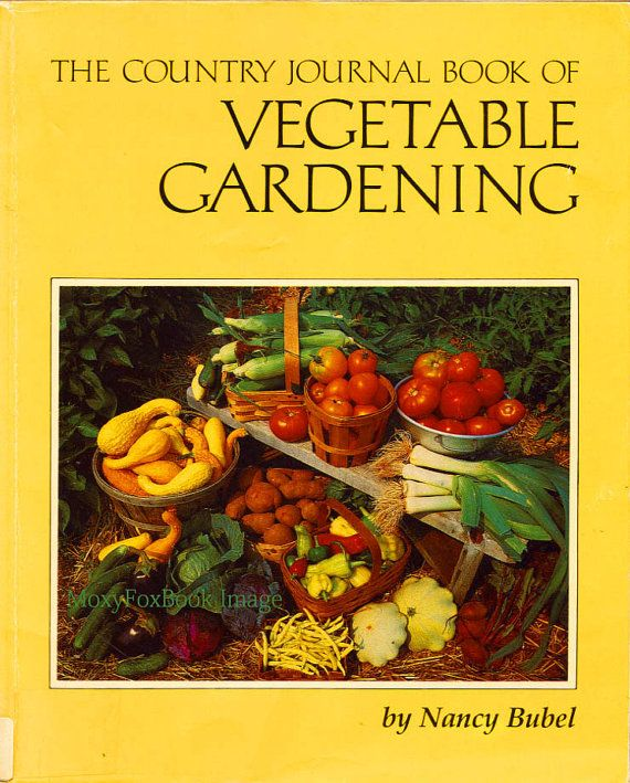 Book  VEGETABLE GARDENING Country Journal by Month by MoxyFoxBooks, $14.15  Free US Shipping  http://www.etsy.com/shop/MoxyFoxBooks