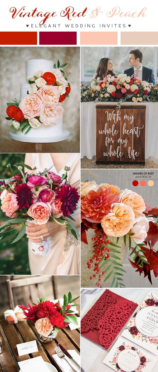 Updated)Top 10 Wedding Color Scheme Ideas for 2018 Trends | Wedding ...