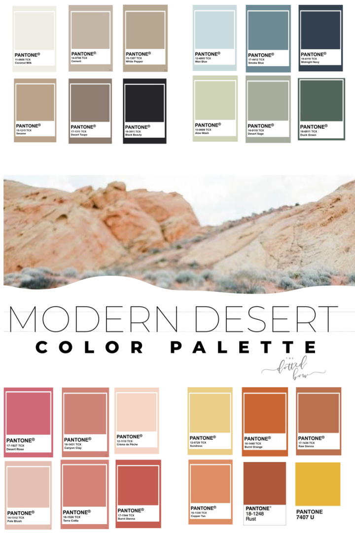 Modern Desert With Images Aesthetic Colors