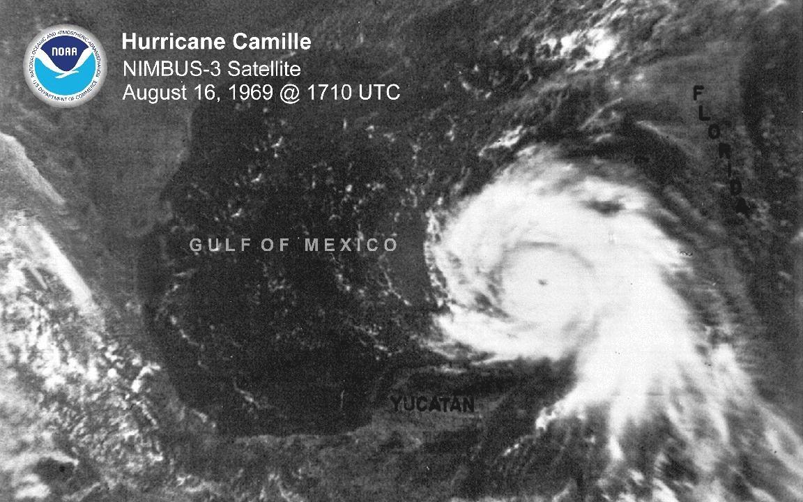 Hurricane Camille Hurricane Gulf Of Mexico