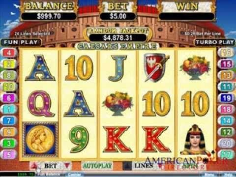 Caesars Empire 3d Slots Usa Online Casinos Youtube Online