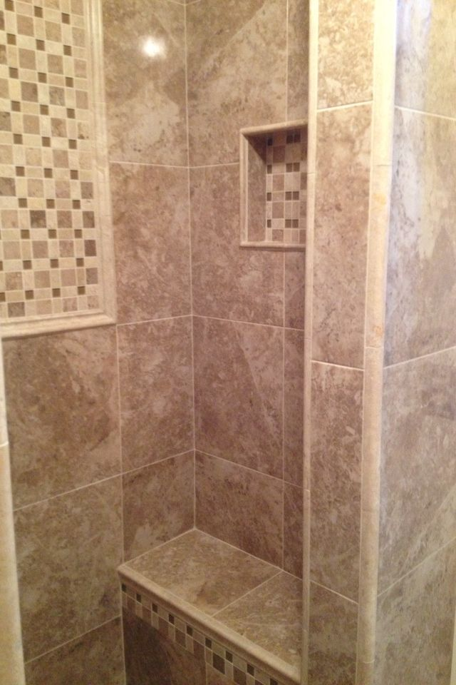 Tiled Shower Pinnacle Stone And Tile Installation By David David Beauteous Bathroom Remodeling Dayton Ohio Property