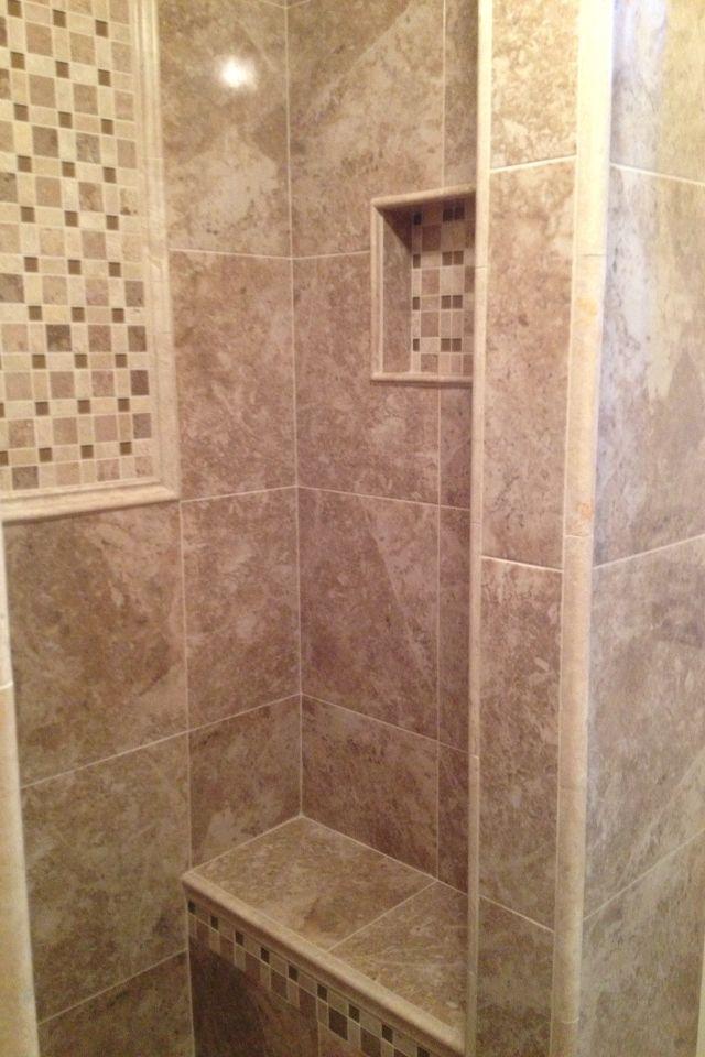 Tiled Shower Shower Tile Shower Stall