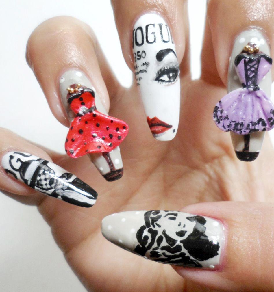 Nail Art Ideas » Nsi Nail Art - Pictures of Nail Art Design Ideas