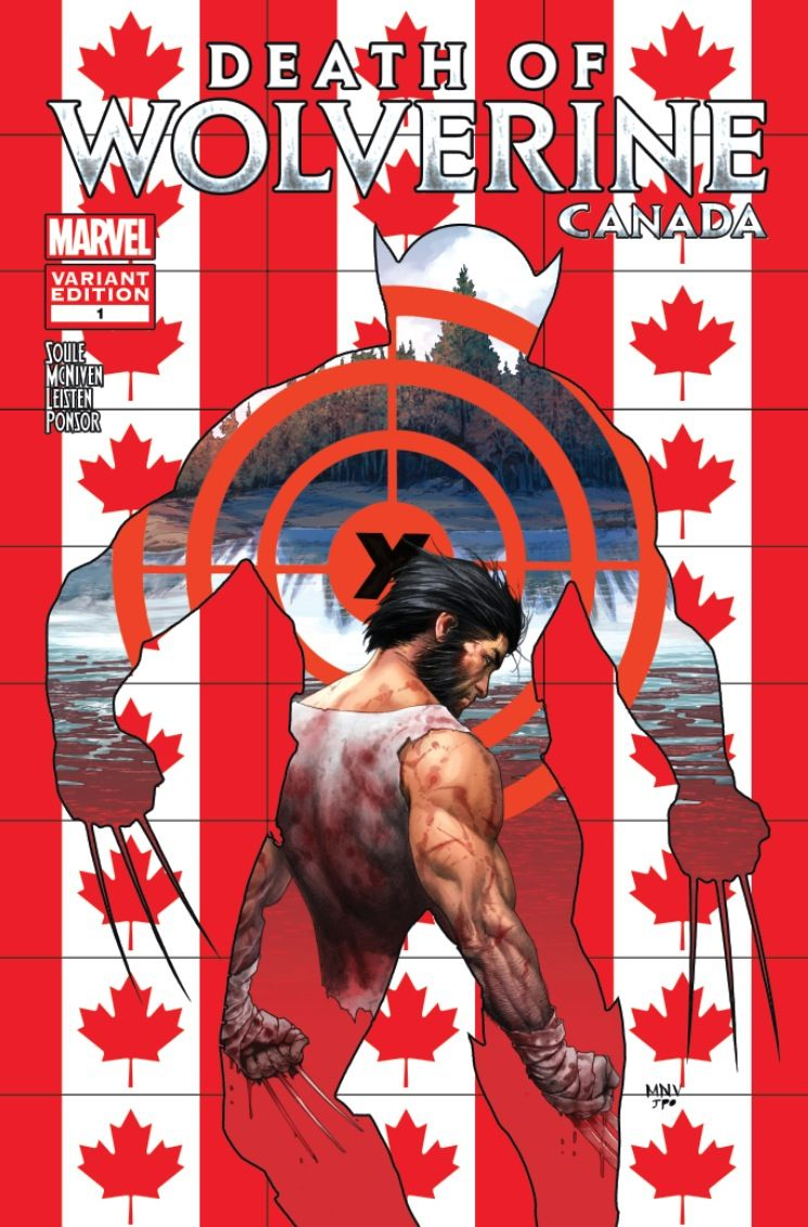 Marvel Comics Exclusive: The Death of Wolverine Canada Variants | Comicbook.com CHARLES SOULE