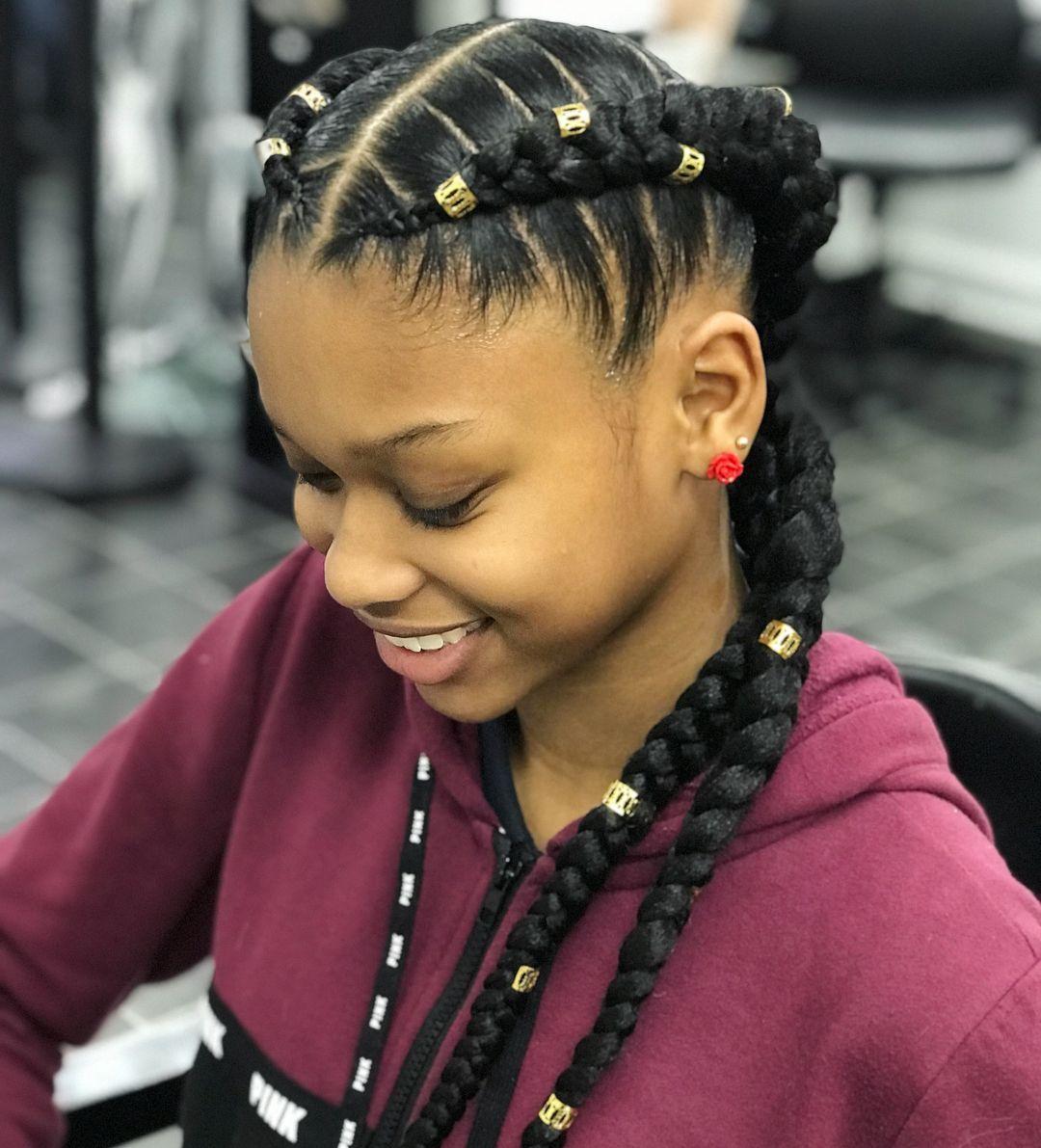 Amazing jumbo braids hairstyles braidedhairstyles hairstyle in