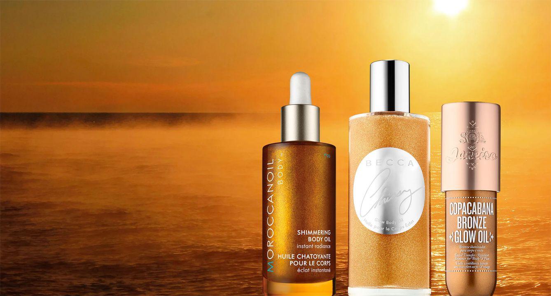 5 Shimmer Body Oils for Summer Shine Shimmer body oil